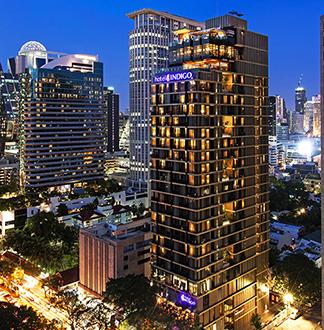 방콕 5성급 인디고 와이어리스 로드 호텔 (Indigo Bangkok Wireless Road Hotel)