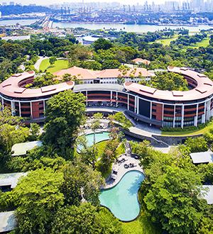 싱가포르 5성급 카펠라 호텔 (Capella Hotel)