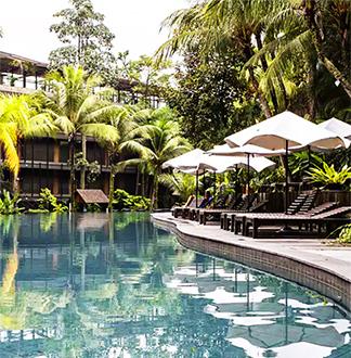 싱가포르 4성급 실로소 비치 리조트 (Siloso Beach Resort )