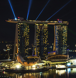 싱가포르 5성급 마리나 베이 샌즈 호텔 (Marina Bay Sands)