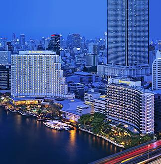 방콕 5성급 샹그릴라 호텔 방콕 (Shangri-La Hotel Bangkok)