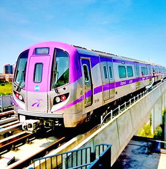 타이베이 공항철도 MRT 편도 탑승권