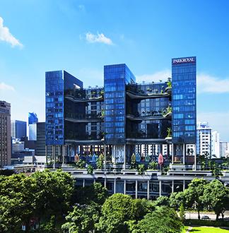 싱가포르 5성급 파크로얄 온 피커링 호텔 (PARKROYAL on Pickering)