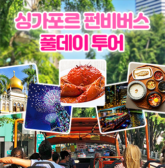 싱가포르 펀비버스 1일 투어 (무선수신기 포함)