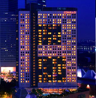 싱가포르 5성급 콘래드 센테니얼 호텔 (Conrad Centennial Singapore)