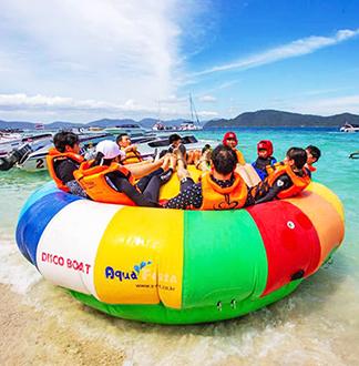 푸켓 산호섬 반나절 투어 + 스피드보트 (픽업/샌딩 포함)