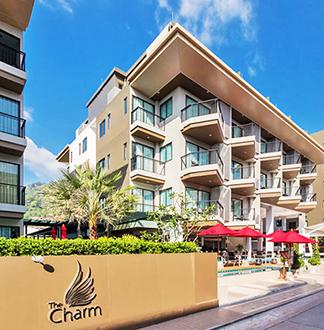 푸켓 4성급 더 참 리조트 푸켓 (The Charm Resort Phuket)