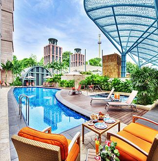 싱가포르 5성급 마이클 호텔 (Hotel Michael)