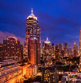방콕 4성급 더블트리 바이 힐튼 플런칫 호텔 (Double Tree By Hilton Bangkok Ploenchit)