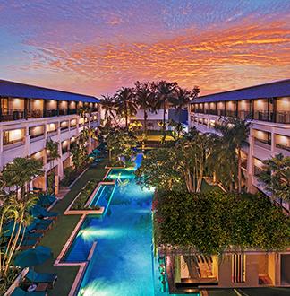 푸켓 4성급 더블트리 바이 힐튼 푸켓 - 반타이 리조트 (Double Tree By Hilton Phuket - Banthai Resort)