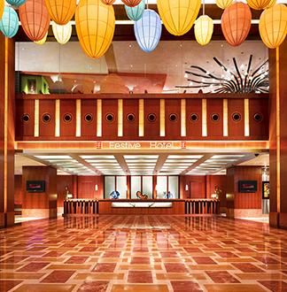 싱가포르 5성급 페스티브 호텔 (Festive Hotel)