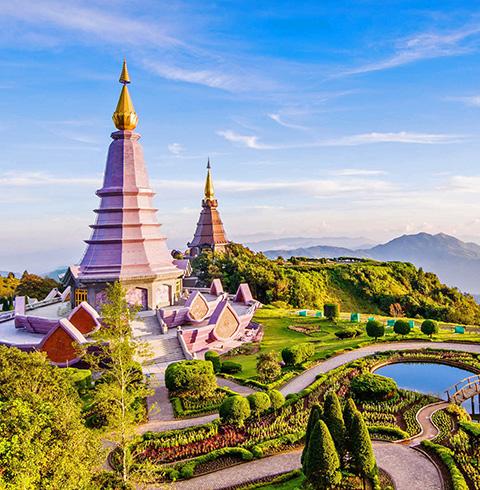 태국 치앙마이여행 도이인타논 국립공원 투어 (픽업/샌딩 포함)