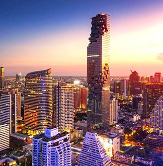 방콕 마하나콘 킹파워 타워 스카이워크 전망대