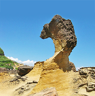 대만 타이베이 예류 지질 공원