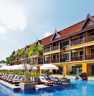푸켓 4성급 다이아몬드 코티지 리조트 (Diamond Cottage Resort)