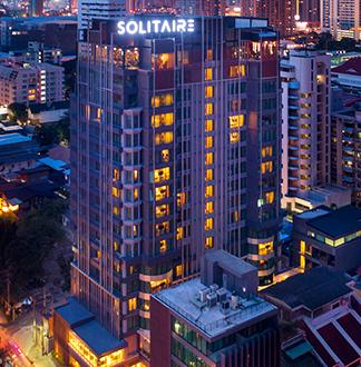 방콕 4성급 솔리테어 수쿰빗11 호텔 (Solitaire Bangkok Sukhumvit 11)