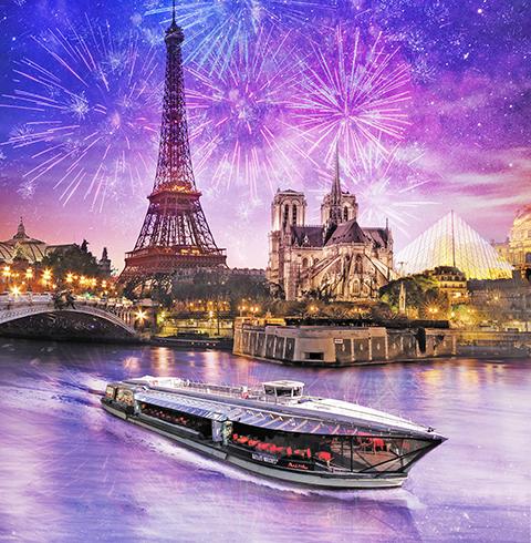 프랑스 파리 디너 센 강 크루즈 탑승권