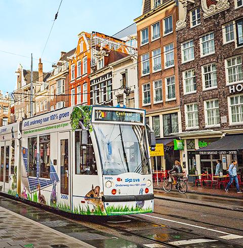 암스테르담 GVB 모든 대중교통 이용권
