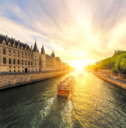 프랑스 파리 바또 파리지앵 디너 크루즈 이용권