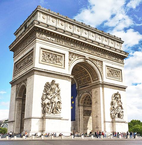 프랑스 파리 에투알 개선문 전망대 입장권