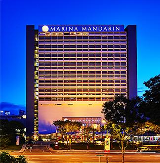싱가포르 5성급 마리나 만다린 호텔 (Marina Mandarin)