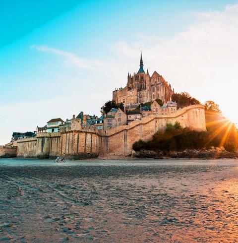 프랑스 몽생미셸 수도원 우선 입장권