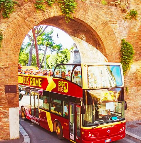 이탈리아 로마 빅 버스 시티투어 탑승권(오픈탑)