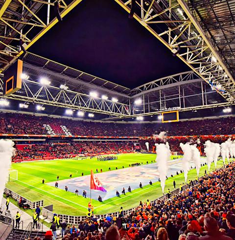네덜란드 암스테르담 요한 크루이프 아레나 경기장 투어