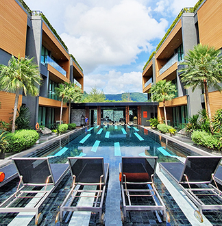 푸켓 4성급 글램 해비타트 호텔 (GLAM HABITAT HOTEL)