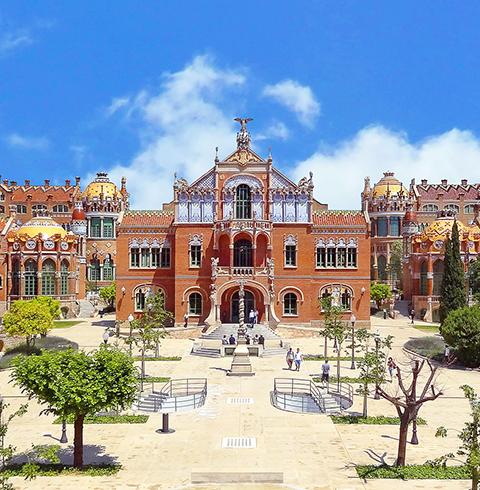 스페인 바르셀로나 산 파우 병원 입장권