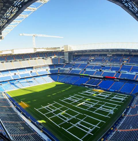 스페인 마드리드 베르나베우 경기장 입장권