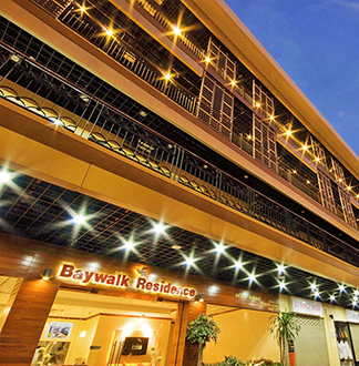 파타야 3성급 베이워크 레지던스 파타야 호텔 (Baywalk Residence Pattaya)