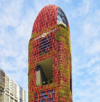 싱가포르 4성급 오아시아 다운타운 호텔 (Oasia Downtown)