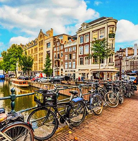 암스테르담 자전거 렌탈