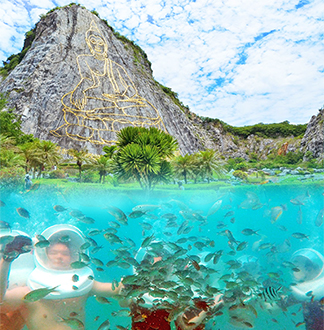 파타야출발 꼬란 (산호섬) + 파타야 1일투어 (픽업/샌딩 포함)