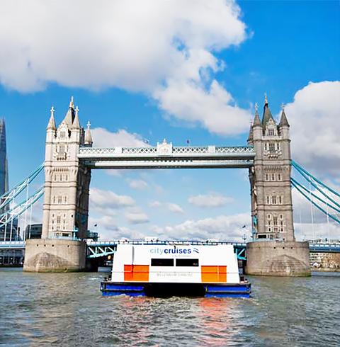 영국 런던 템즈강 런치/디너 크루즈 탑승권