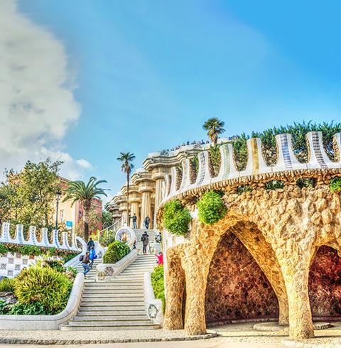 스페인 바르셀로나 구엘 공원 입장권