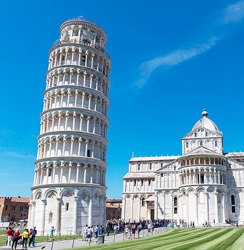 이탈리아 로마 피사의 사탑 우선 입장권