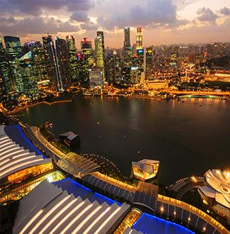싱가포르 마리나베이샌즈 스카이파크 전망대 입장권