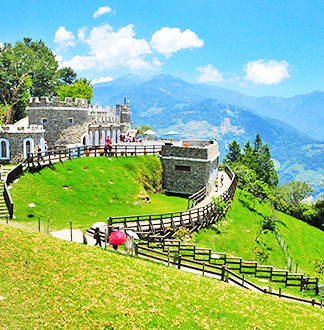 타이중 칭징농장 칭칭초원 + 작은 스위스 정원 입장권