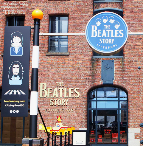 영국 리버풀 비틀즈 테마 박물관 입장권