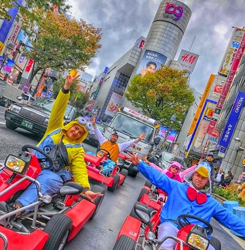 도쿄 마리카 카트 이용권