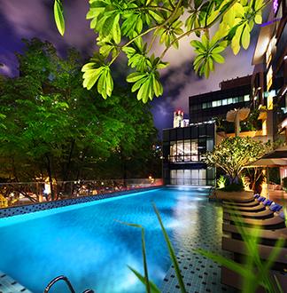 싱가포르 4성급 파크 레지스 호텔 (Park Regis Singapore)