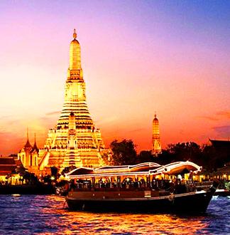 방콕 반얀트리 압사라 디너 크루즈