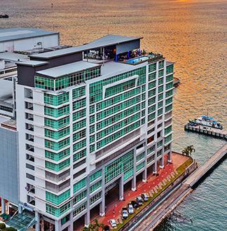 코타키나발루 4성급 그란디스 호텔 (Hotel Grandis)