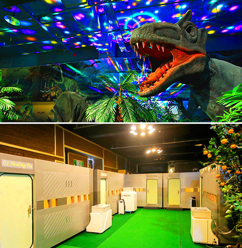 제주 공룡동물농장 + 산소힐링피아 + 인체의신비