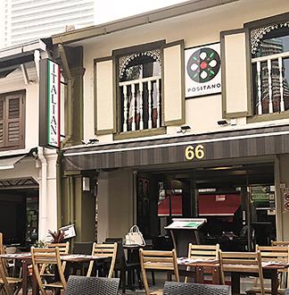 싱가포르 포지타노 리조또 세트
