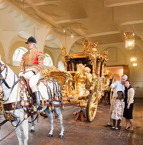 영국 런던 버킹엄 궁전 로열 뮤스 입장권